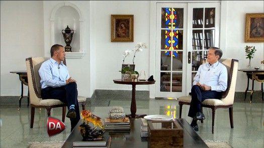 Entrevista exclusiva al presidente de Panamá, Laurentino Cortizo
