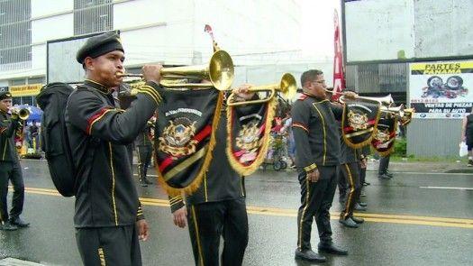 Bandas independientes rindieron honor a la Patria en Río Abajo