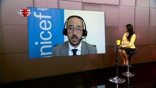 Cara a Cara con Javier Córdoba, coordinador de programas de Unicef