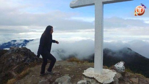La Tepesita y su travesía de subir al Volcán Barú
