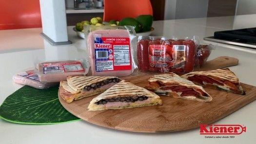 Wrap challenge de chorizo y jamón cocido Kiener