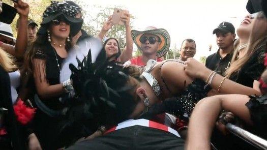 Un entierro cierra el carnaval en Barranquilla