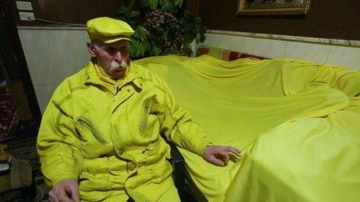 El misterioso hombre amarillo de Alepo