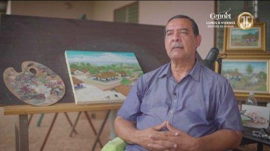 Artista plástico Milton Villarreal habla sobre sus obras