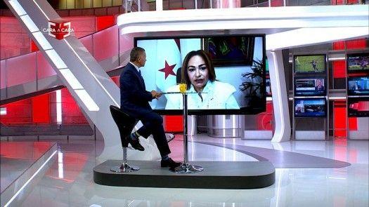 Cara a Cara con Eyra Ruiz, ministra consejera de Salud
