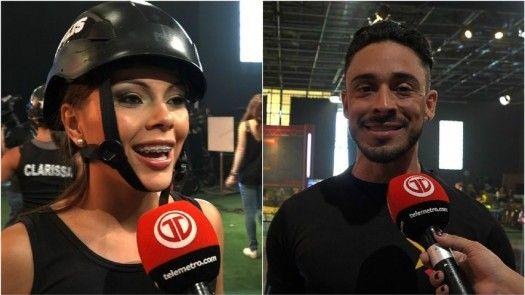 Doralis y Marco, de presentadores a competidores de C7 VIP