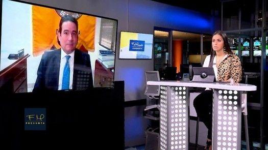 Flor Mizrachi Pregunta:  Carlos Berguido,  director de la Asociación Bancaria de Panamá