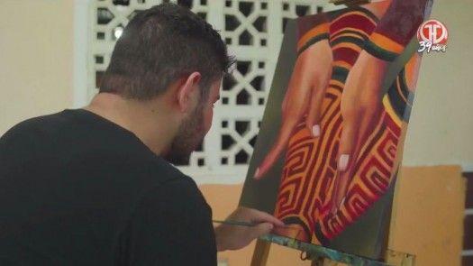 Conociendo a Denis Vega, pintor panameño