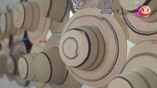 Elaboración del sombrero pintao