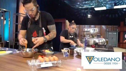 Ramiro y Bibi aprovecharon al máximo sus recetas con productos Toledano