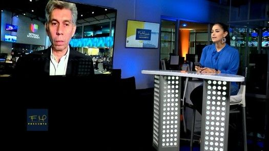 Flor Mizrachi Pregunta: Daniel Coronell, presidente de Noticias de Univision