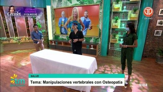 Manipulaciones vertebrales con Osteopetía