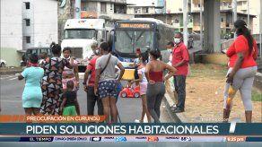 Moradores de Curundú piden soluciones habitacionales, dicen estar dispuestos a pagar