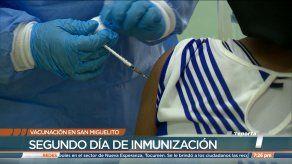 Surgen reacciones a favor y en contra de proceso de vacunación en San Miguelito