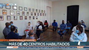 Autoridades de Colón se preparan para segunda fase de vacunación