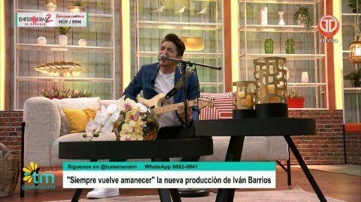 Iban Barrios TU Mañana