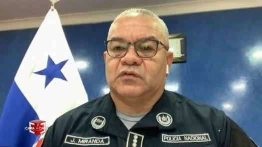 Cara a Cara con el director de la Policía Nacional, Jorge Miranda