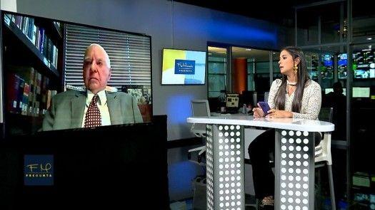 Flor Mizrachi Pregunta: Mario  Galindo, exministro de Hacienda y Tesoro