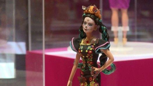 Presentan en México Barbie edición especial de Día de Muertos