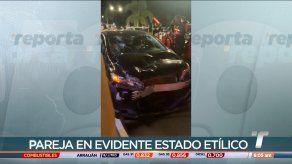 Cuatro personas lesionadas tras colisión y fuga en Amador