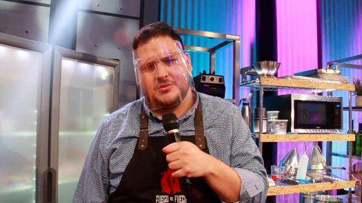 Chef Loncho retador FuegovsFuego