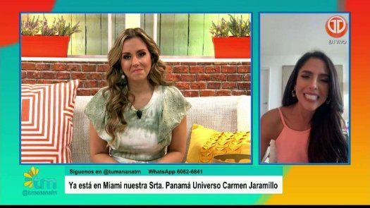 Carmen Jaramillo va con todo para el Miss Universo 2020, se siente tranquila y feliz