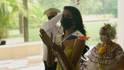 El emotivo recibimiento para Carmen Jaramillo a la sede del Miss Universo en Miami