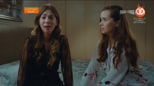 Cennet le dice a Arzu que hizo lo correcto por ella y por su familia, que entierre su pasado y lo olvide, que por fin son una familia, valió la pena pasar por todo eso.