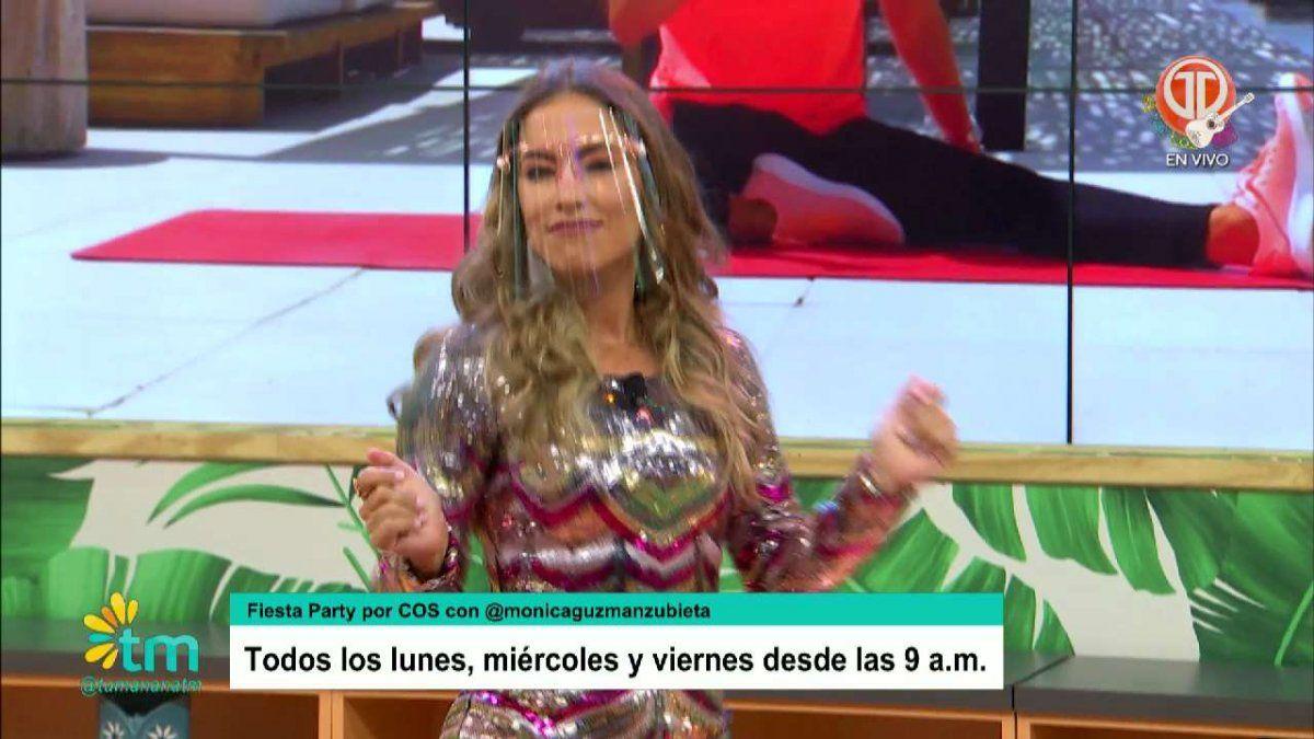 Mónica Guzmán habla sobre su programa de fitness Fiesta Party