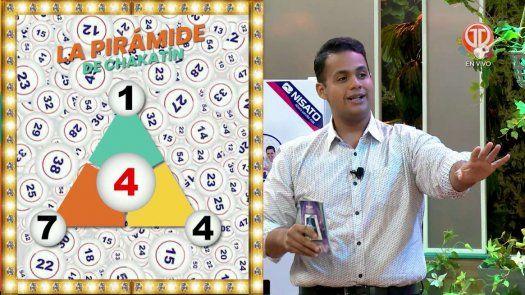 La Pirámide de Chakatín para el sorteo dominical del 16 de mayo