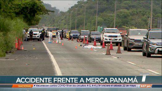 Motociclista pierde la vida tras accidente de tránsito en la vía Centenario