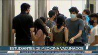 Vacunan a estudiantes de Medicina y a funcionarios del Ministerio Público