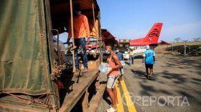 Surcando los cielos de Panamá para llevar ayuda a las zonas apartadas