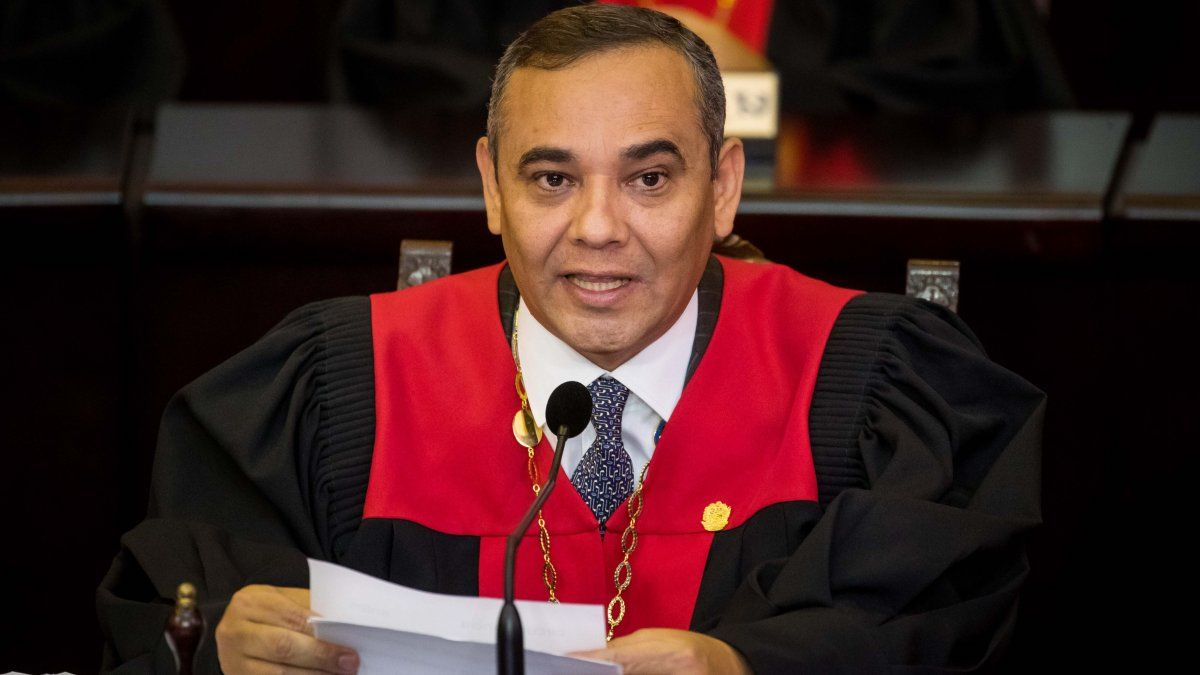 El presidente del Tribunal Supremo de Justicia (TSJ), Maikel Moreno.
