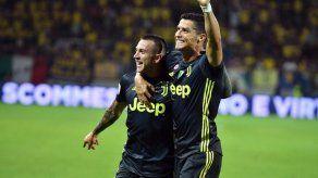 Cristiano se reivindica y da triunfo a la Juve