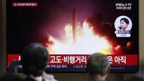 Norcorea dispara más proyectiles