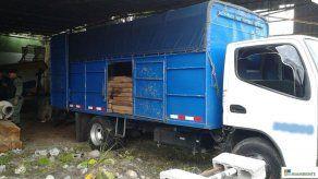 Retienen 345 piezas de madera en Paso Ancho