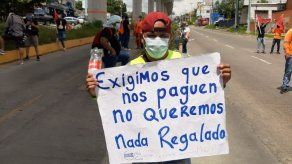 Unos 200 extrabajadores de Conalvías reclaman pagos en Panamá