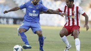 Getafe empata 2-2 con Almería