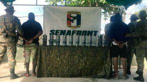 Tres colombianos detenidos con cilindros con mercurio en Guna Yala