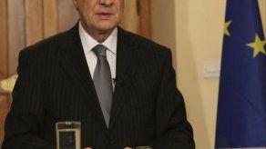 Presidente chipriota promete investigación a fondo sobre la crisis