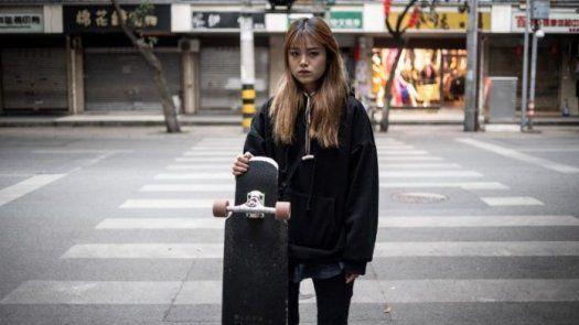 Mu Qing, la patinadora china que triunfa en las redes sociales