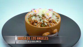 Espaghetti boloñesa - María De Los Ángeles