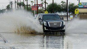 Remanentes de tormenta causan lluvias en suroeste de EEUU