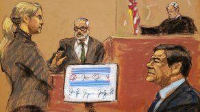Último testigo cooperante llega a la silla de los testigos en juicio al Chapo