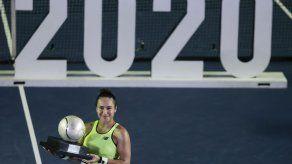 WTA suspende torneos hasta 2 de mayo; evalúa resto de gira