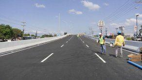 MOP abre primera fase de puente vehicular de Pedregal