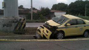 Fatal accidente de tránsito deja un muerto en Brisas del Golf