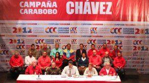 Vicepresidente venezolano en campaña