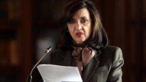 Claudia Blum presentó su renuncia al cargo de canciller de Colombia.